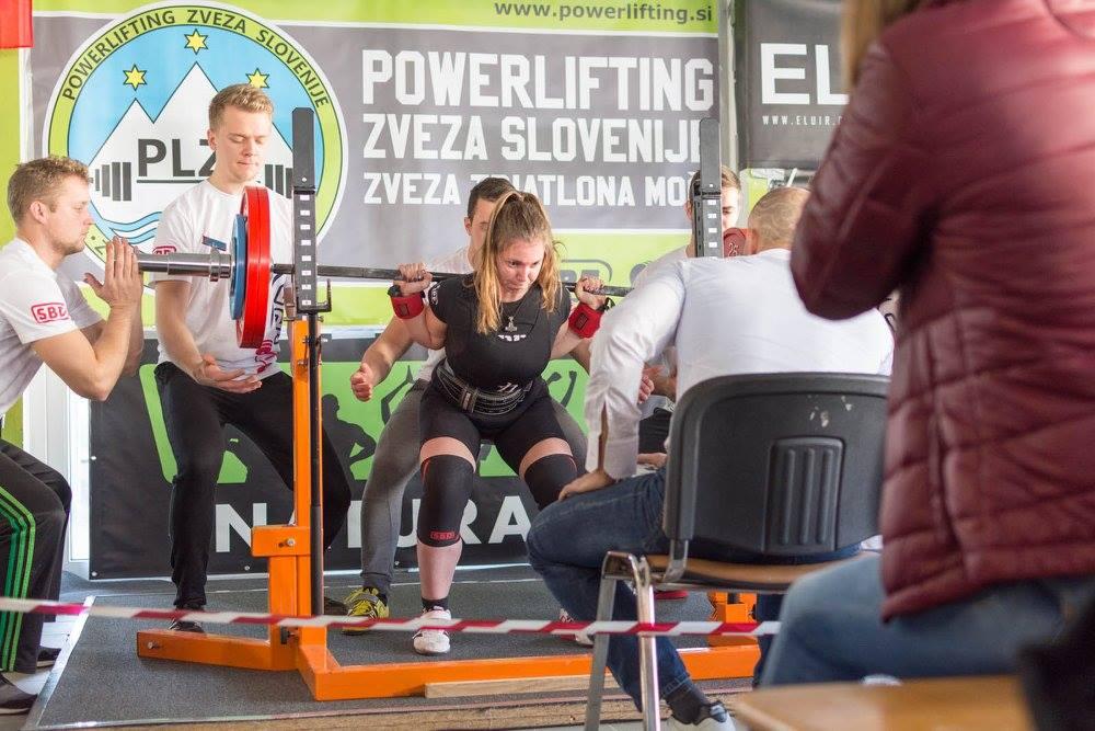 Nuša Železnik, poep 147,5 kg