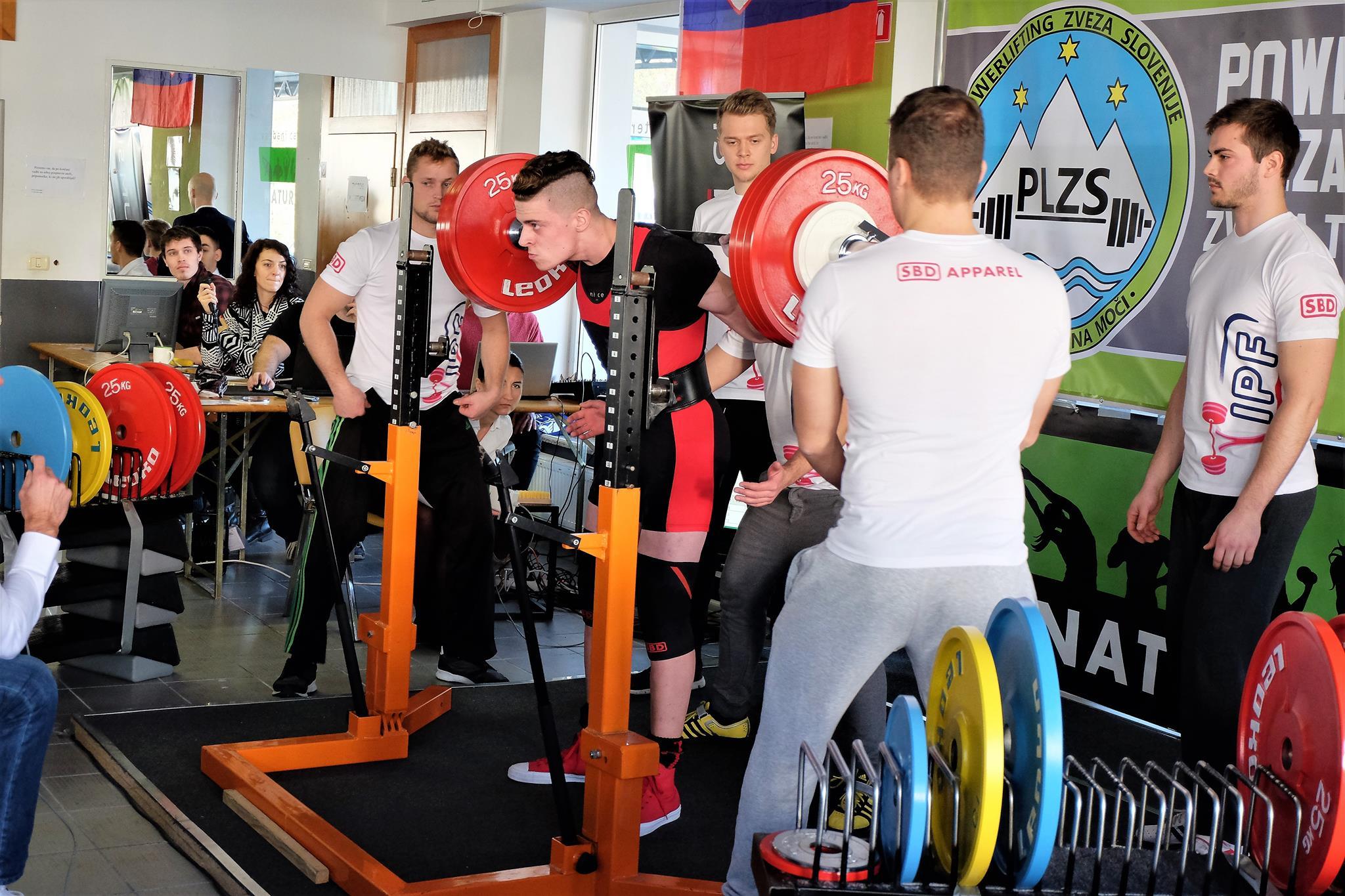 Andraž Zupančič, počep 185kg